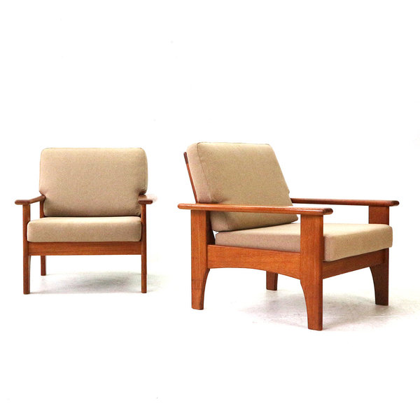 Teak Easy Chair, 1960s