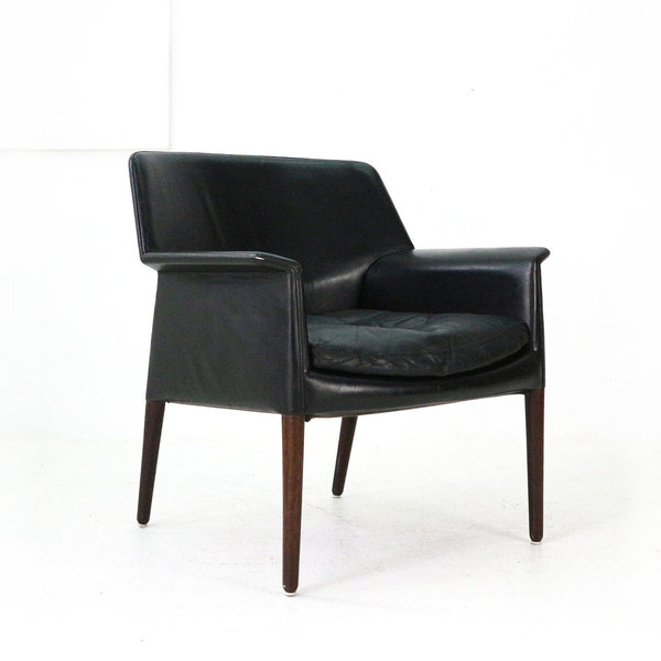Leather Armchair, 1960s