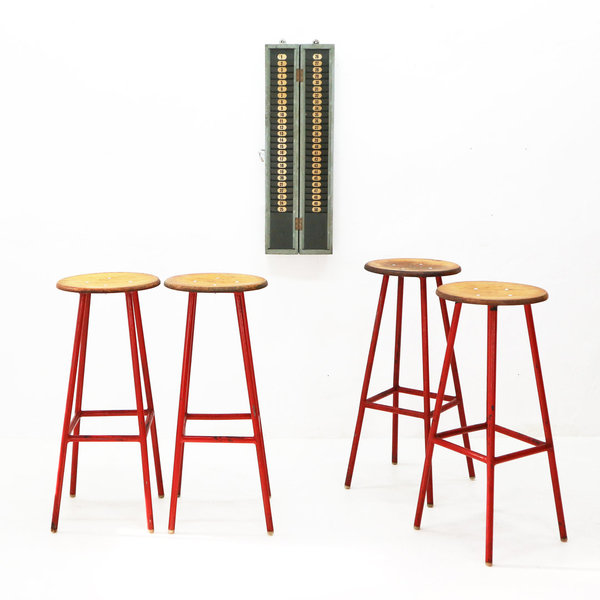 Inustrial Bar Stool, 1960s